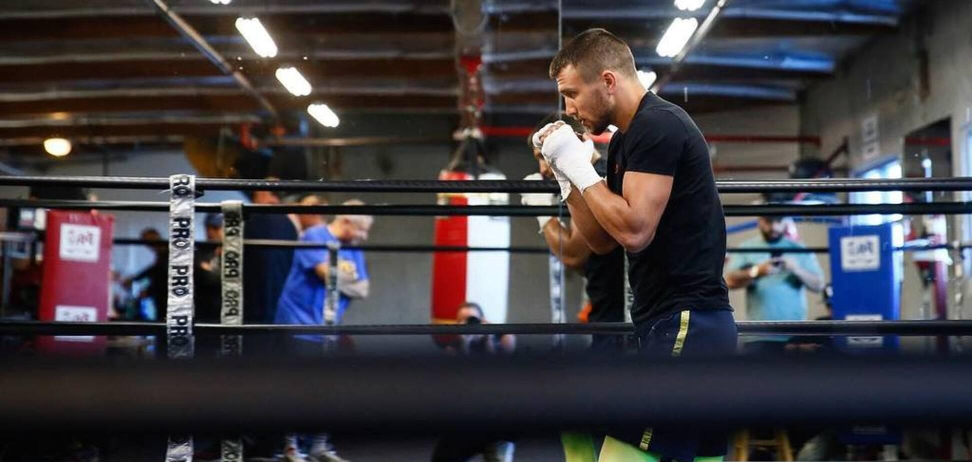 'Надрать задницу': Ломаченко передал привет американскому чемпиону