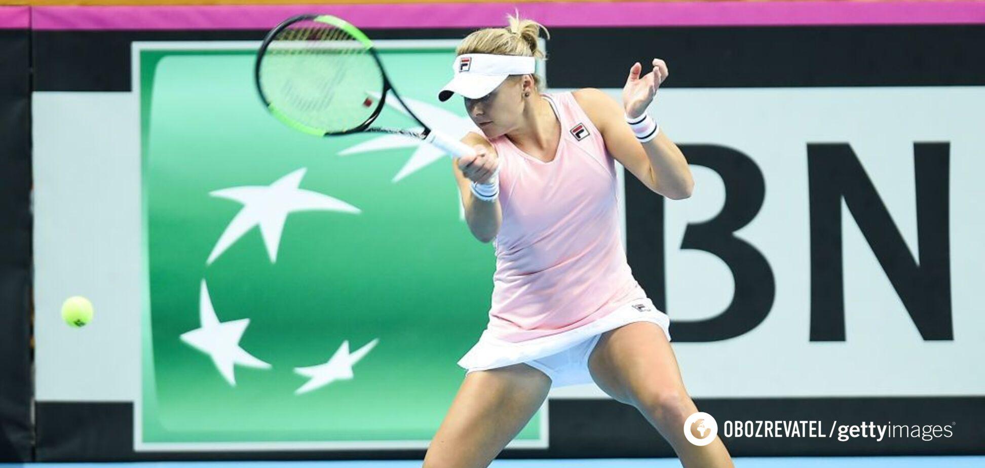 Украинская теннисистка сотворила сенсацию на супертурнире в США