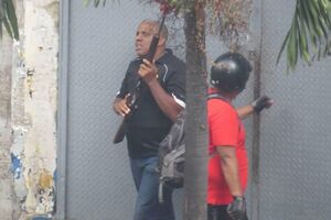В Венесуэле открыли стрельбу по противникам Мадуро: фото и видео