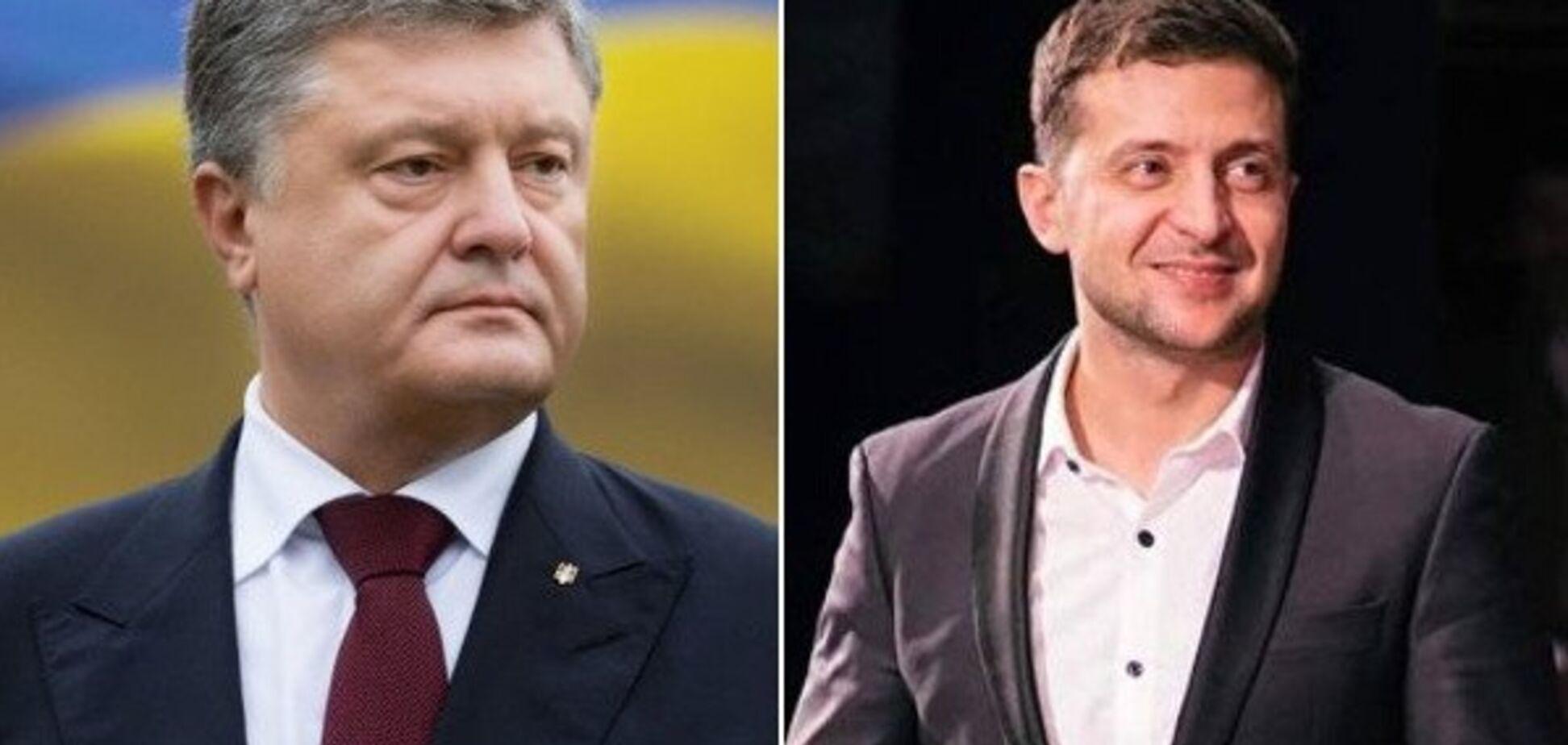Зеленський обіцяє другий паспорт, а Порошенко — багатство: чого очікувати від кандидатів