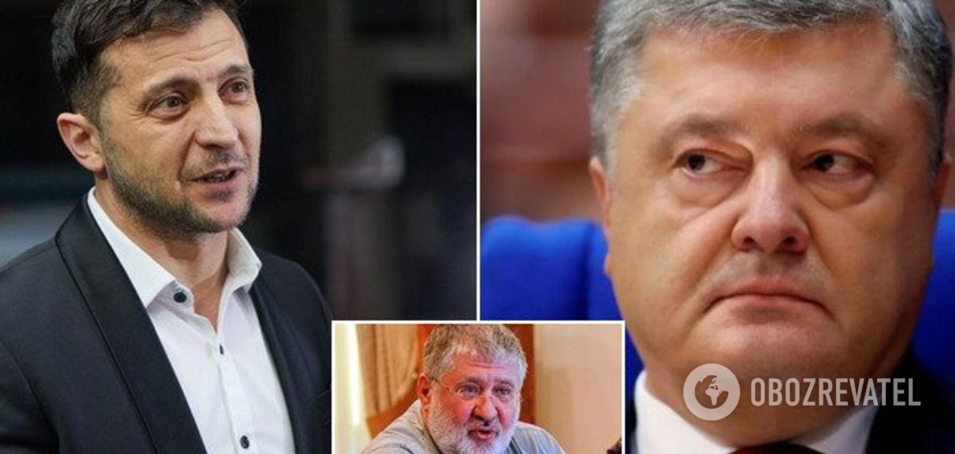 'Собачьи бои': у Зеленского предложили Порошенко провести дебаты с Коломойским
