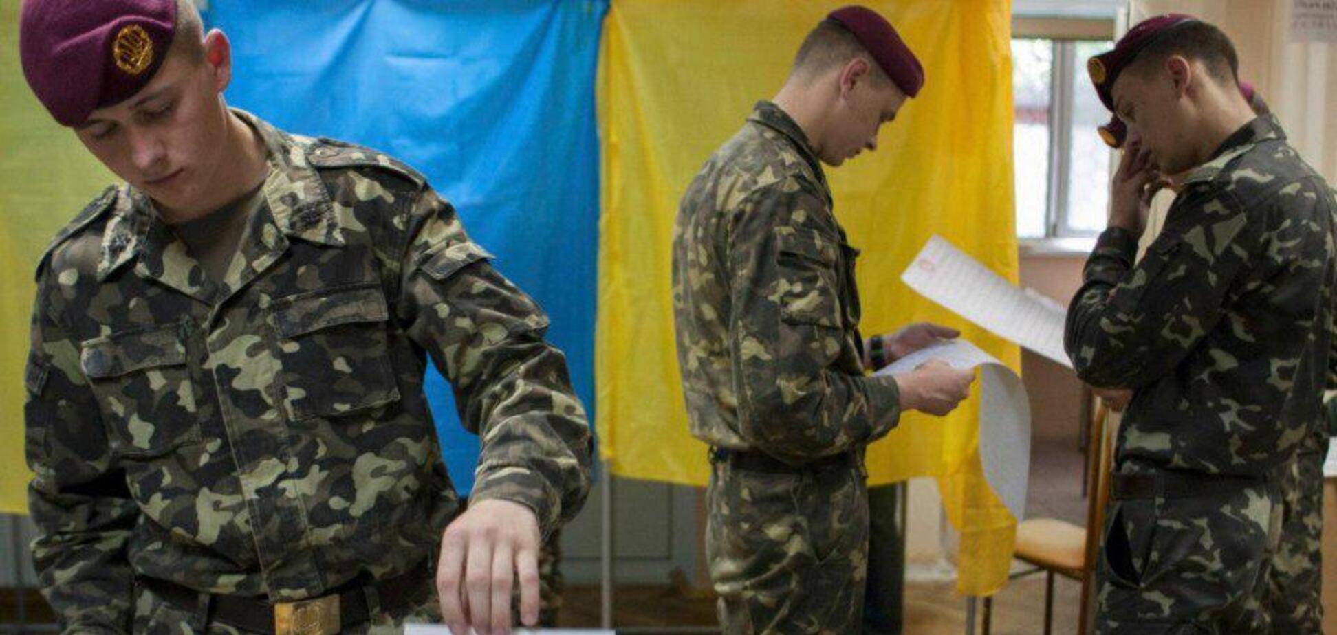 Выборы в Украине: опубликованы неожиданные результаты голосования среди военных