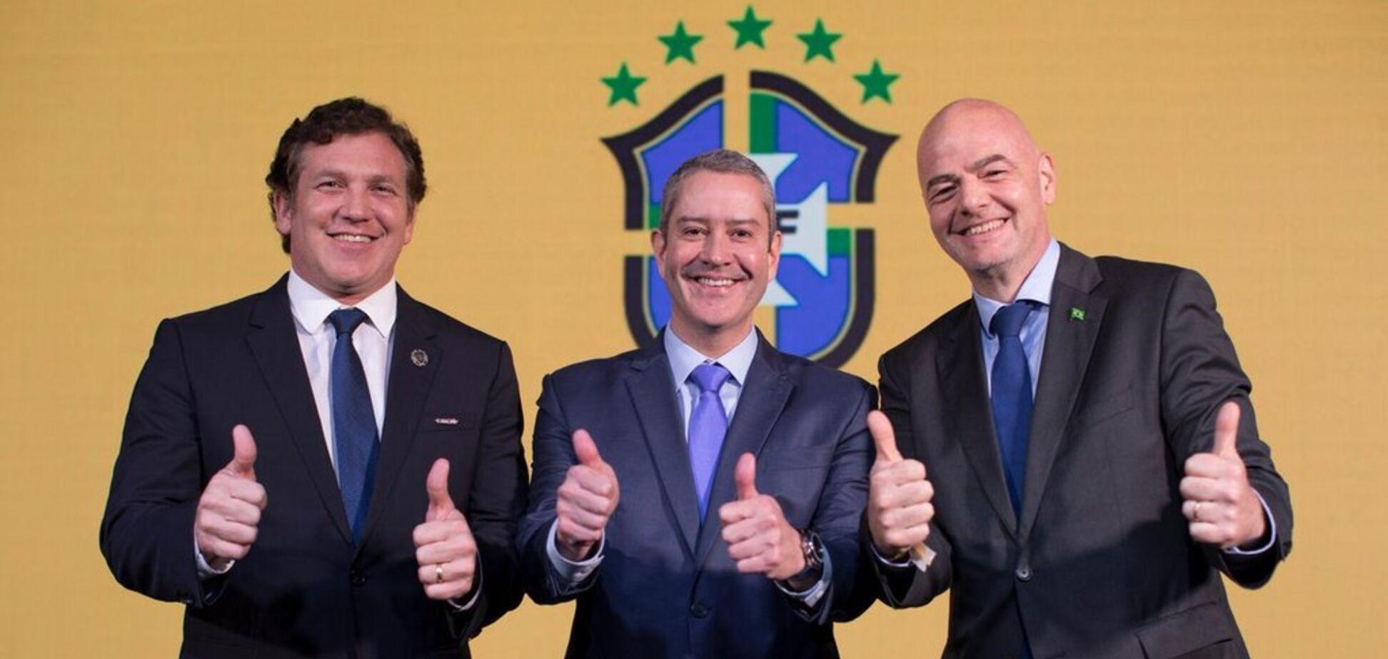 Вперше за 70 років: збірна Бразилія буде грати в 'динамівськiй' формі - фотофакт