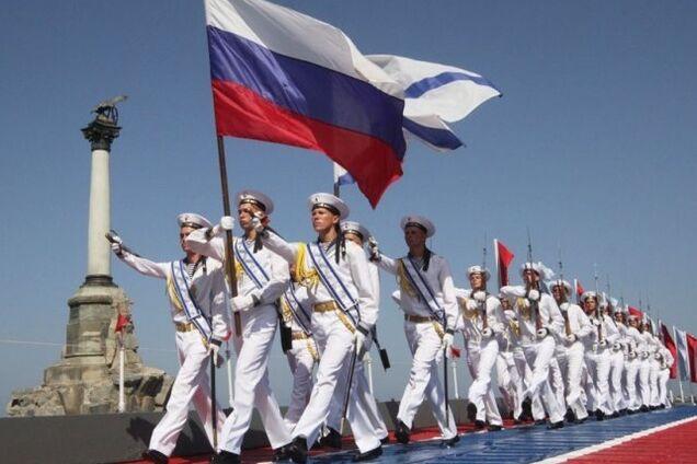 Иллюстрация. Проведенный оккупантами День ВМФ РФ в Крыму