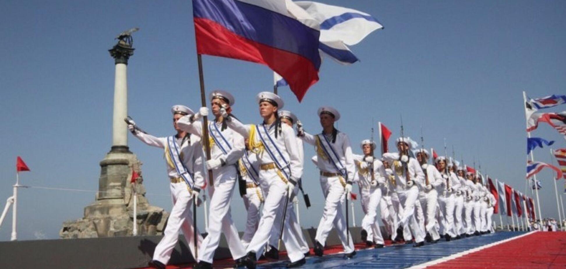 Хвастались медалями от Путина: в сети показали захвативших Крым российских моряков