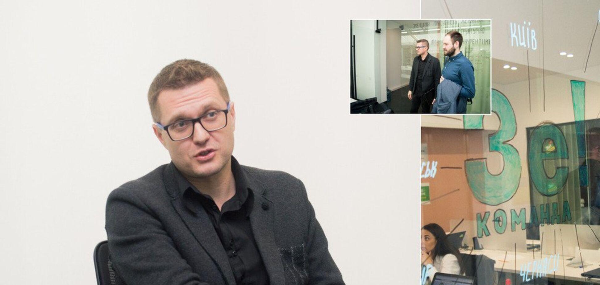 'Мы должны сшить страну': интервью с главой штаба Зеленского о дебатах, Порошенко и Донбассе