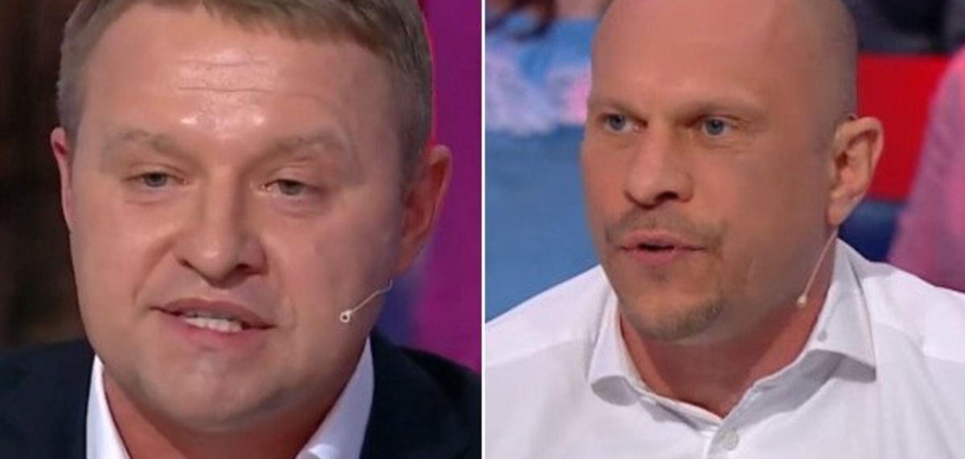 Экс-кандидат в президенты устроил драку в студии известного канала