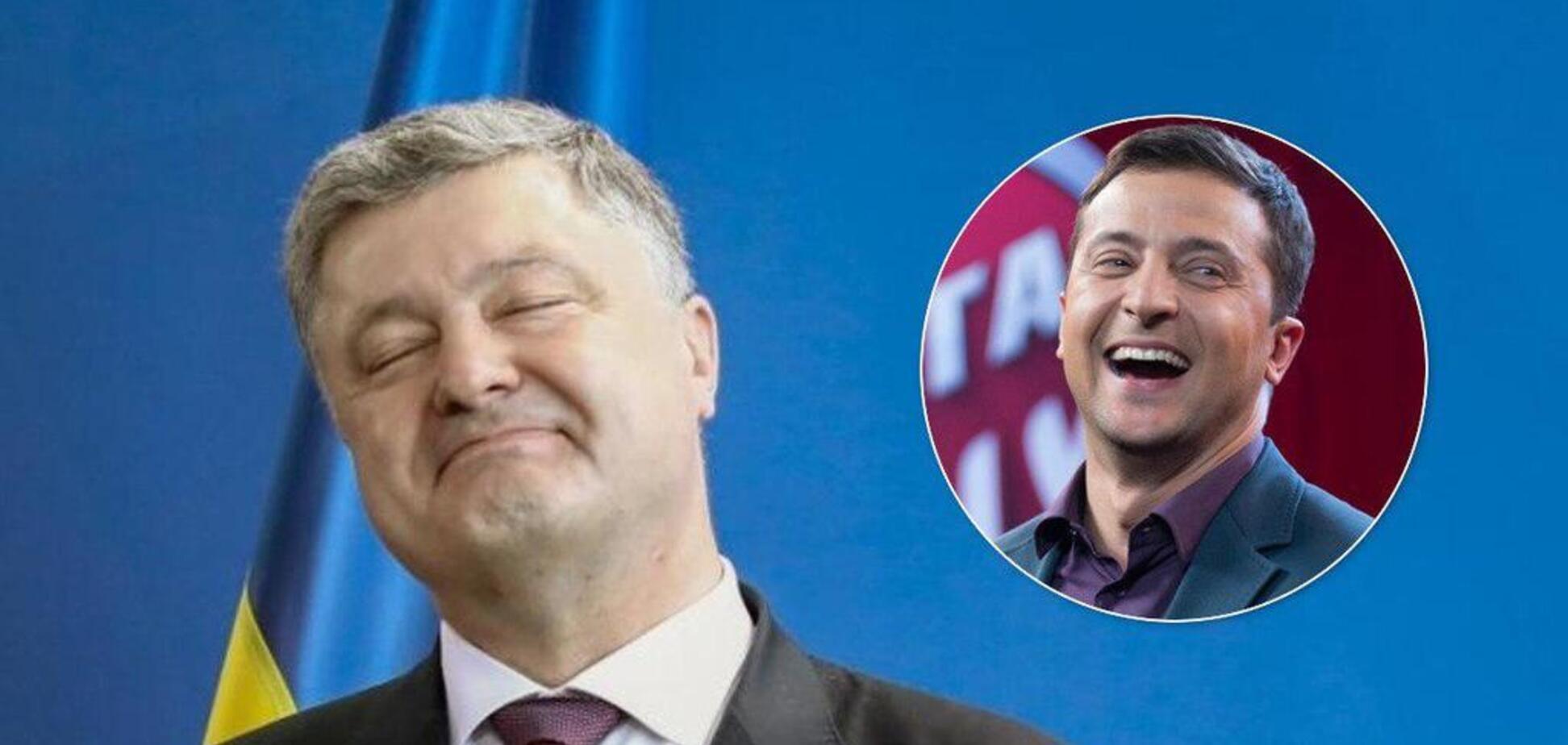 Зеленский vs Порошенко: физиогномист рассказал, о чем говорит мимика кандидатов