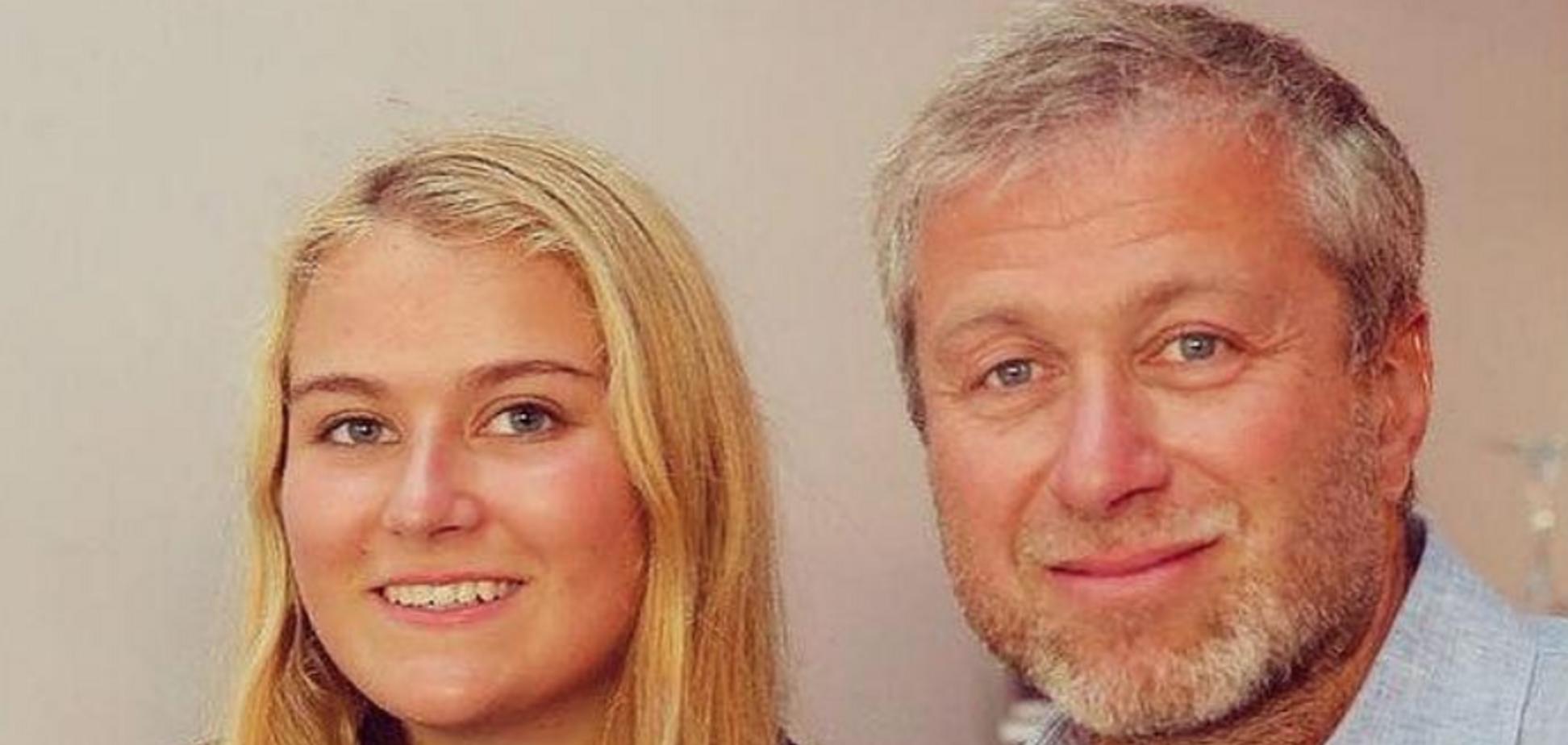 Роман Абрамович з донькою Софією