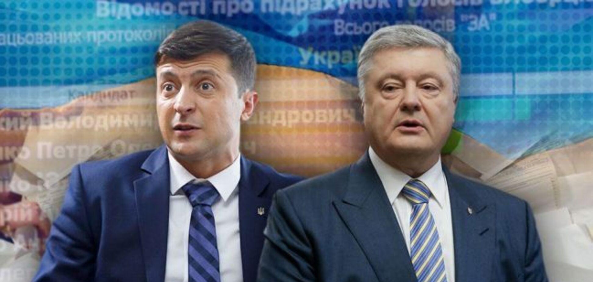 Зеленский опережает Порошенко более чем в два раза: свежий инсайд от социологов