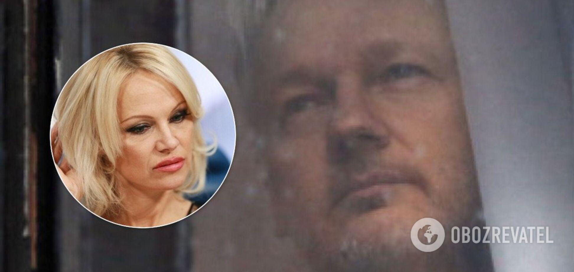 'Подстилка Америки': Памела Андерсон жестко ответила на арест Ассанжа