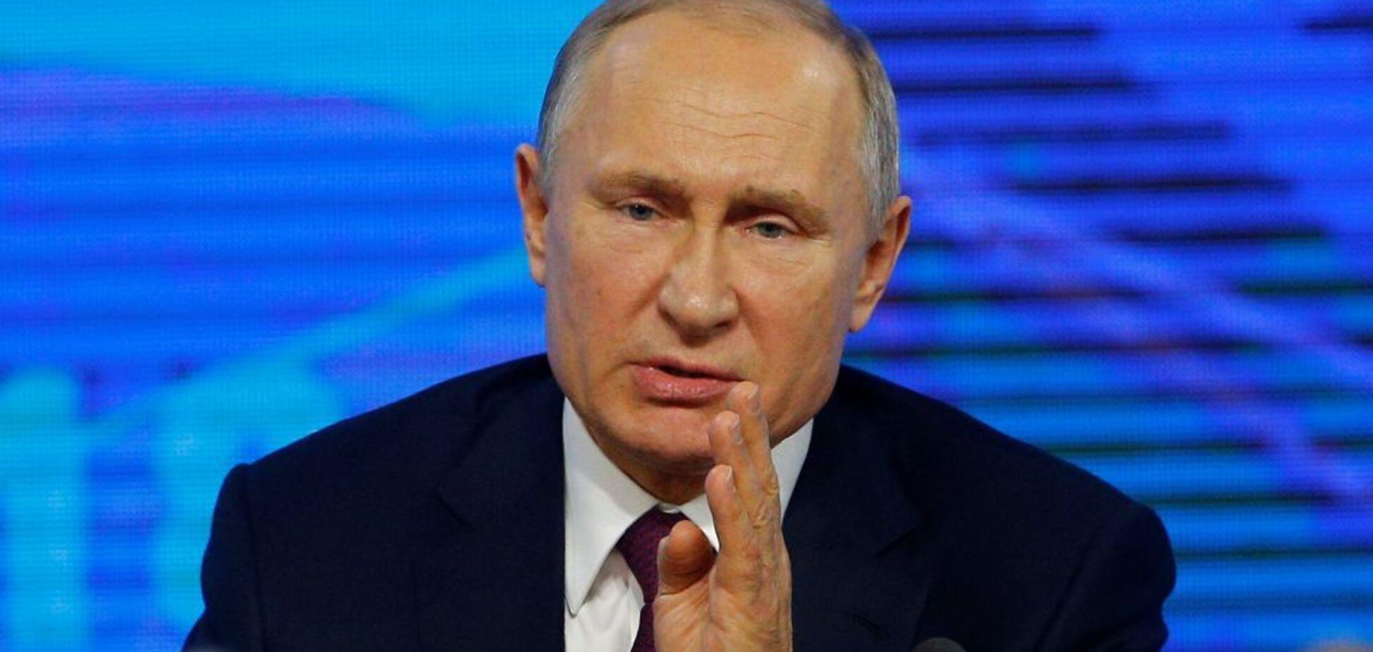 Рейтинг Путина необратимо падает