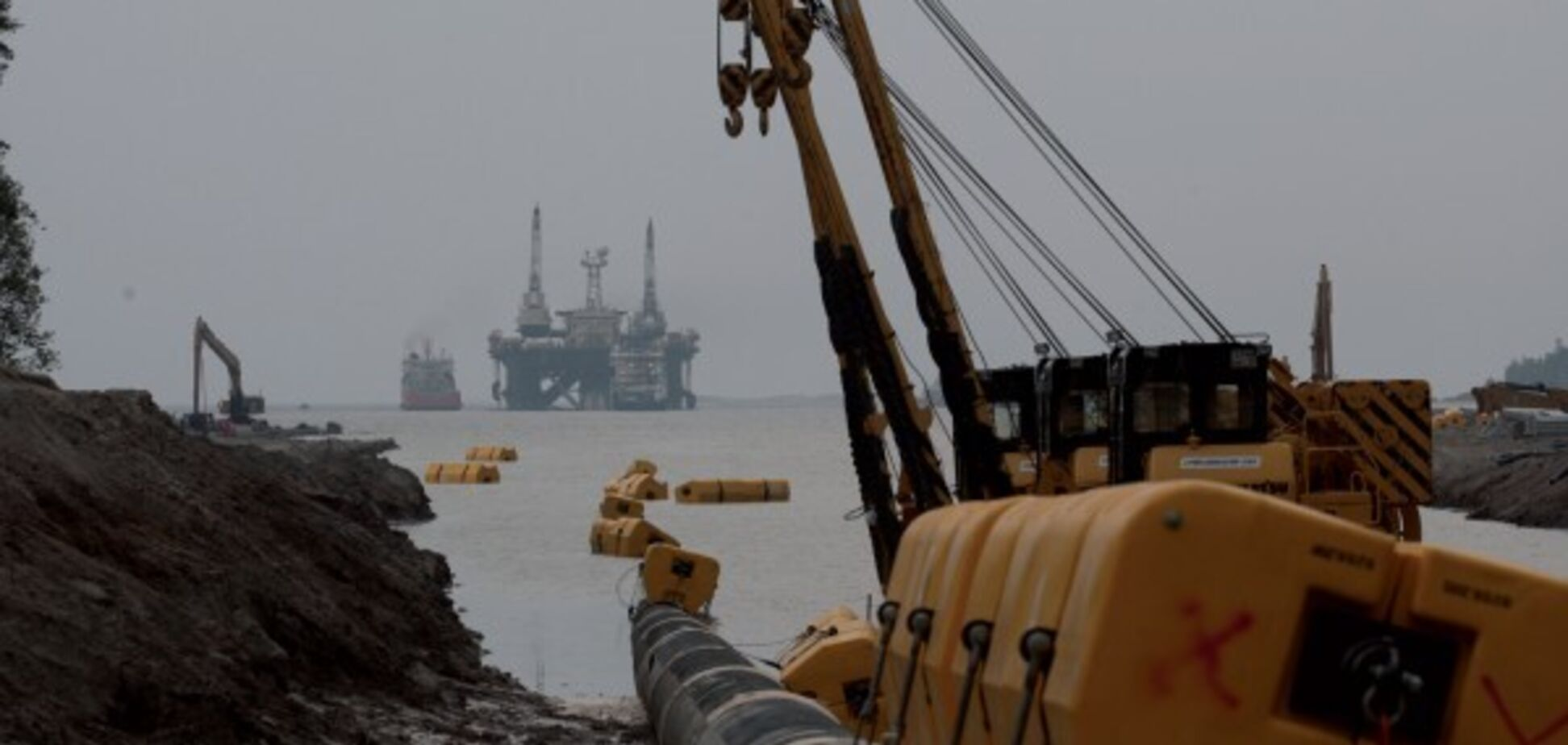 'Северный поток-2': в 'Газпроме' рассказали, сколько километров построили