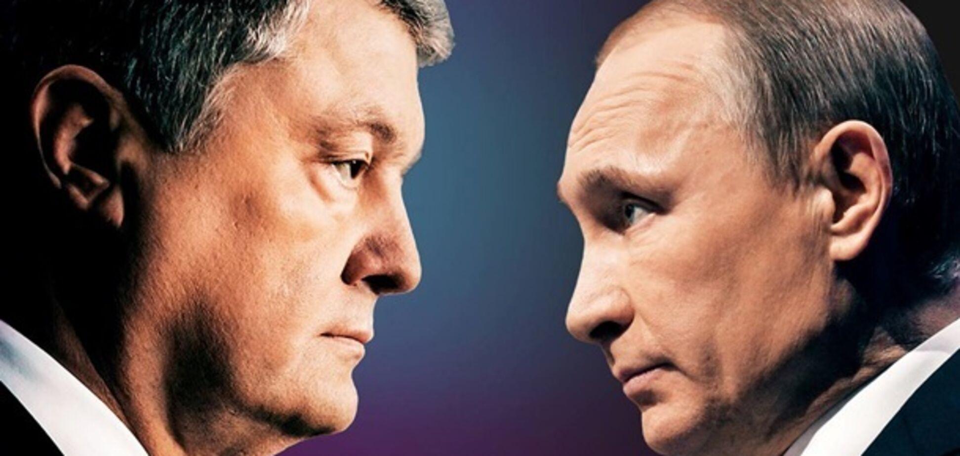 'Не нравится!' У Порошенко объяснились по поводу скандальной рекламы с Путиным