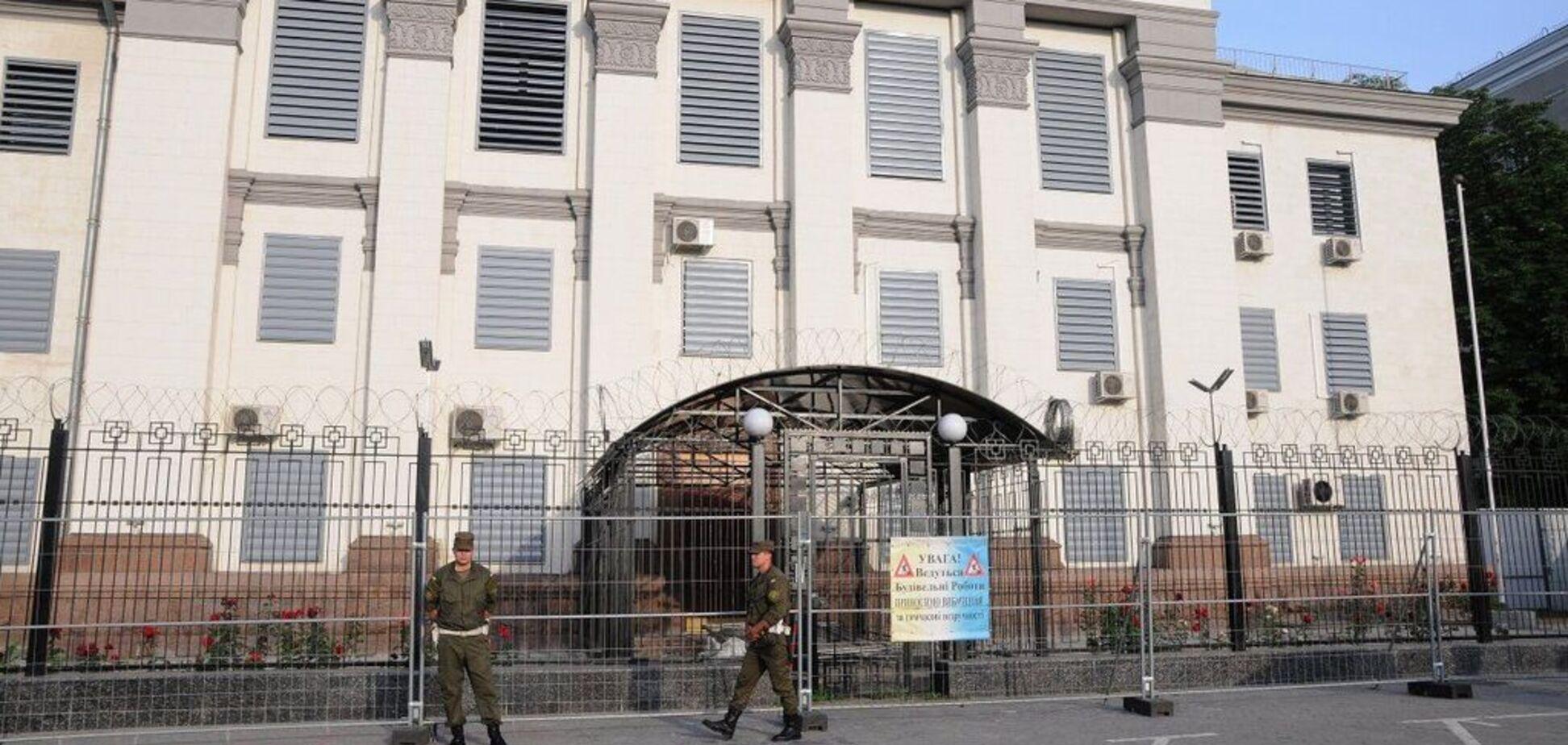 В Киеве прогремел взрыв возле посольства России