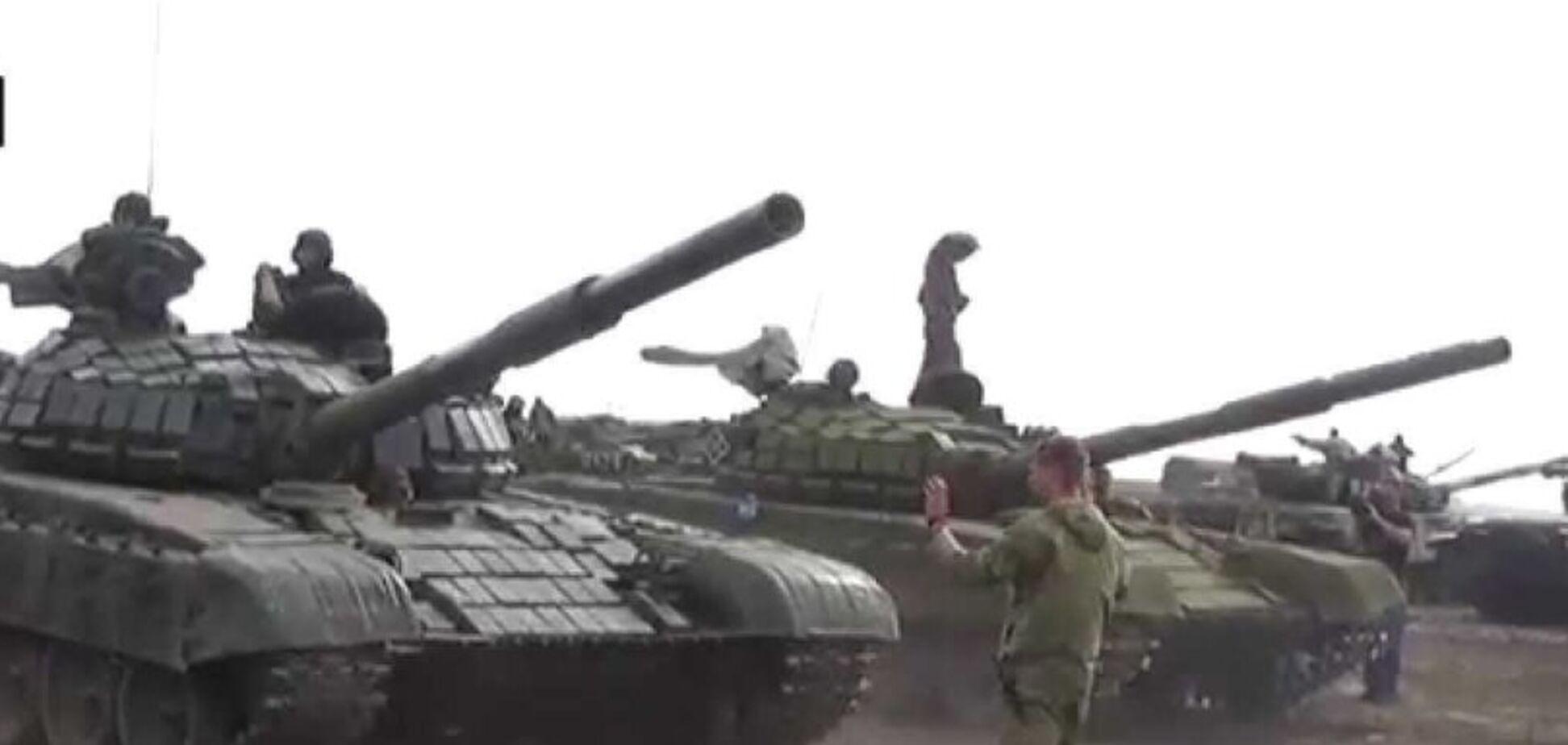 'Наркоши за рычагами': танкисты 'ДНР' устроили переполох в Горловке
