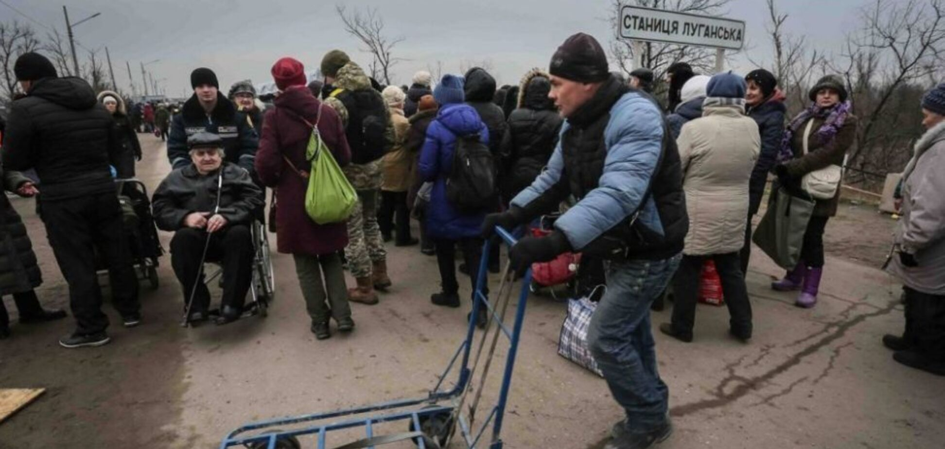 Переход из 'ЛНР' в Украину: можно тронуться умом