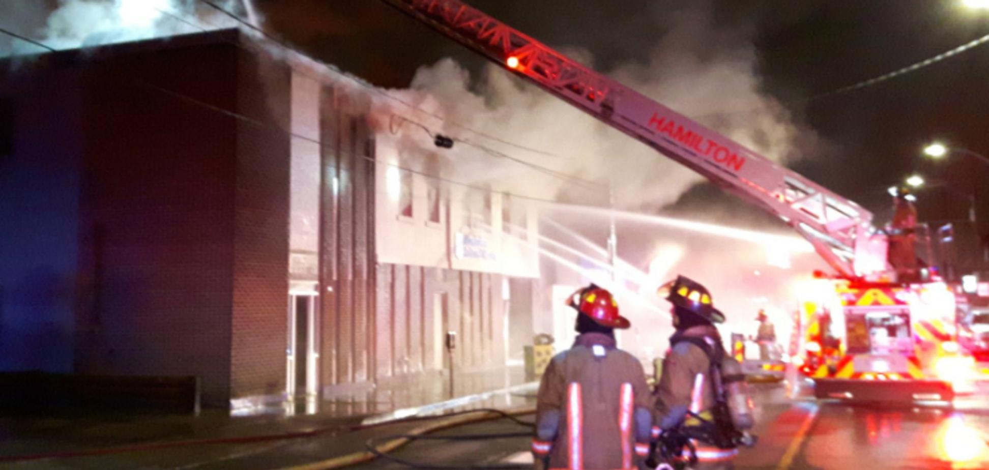 В Канаде сгорел дотла украинский центр: уничтожены архивные документы