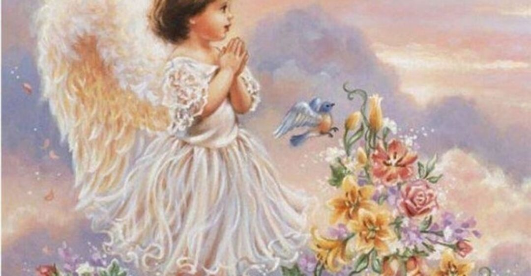 С днем матери поздравление с ангелами