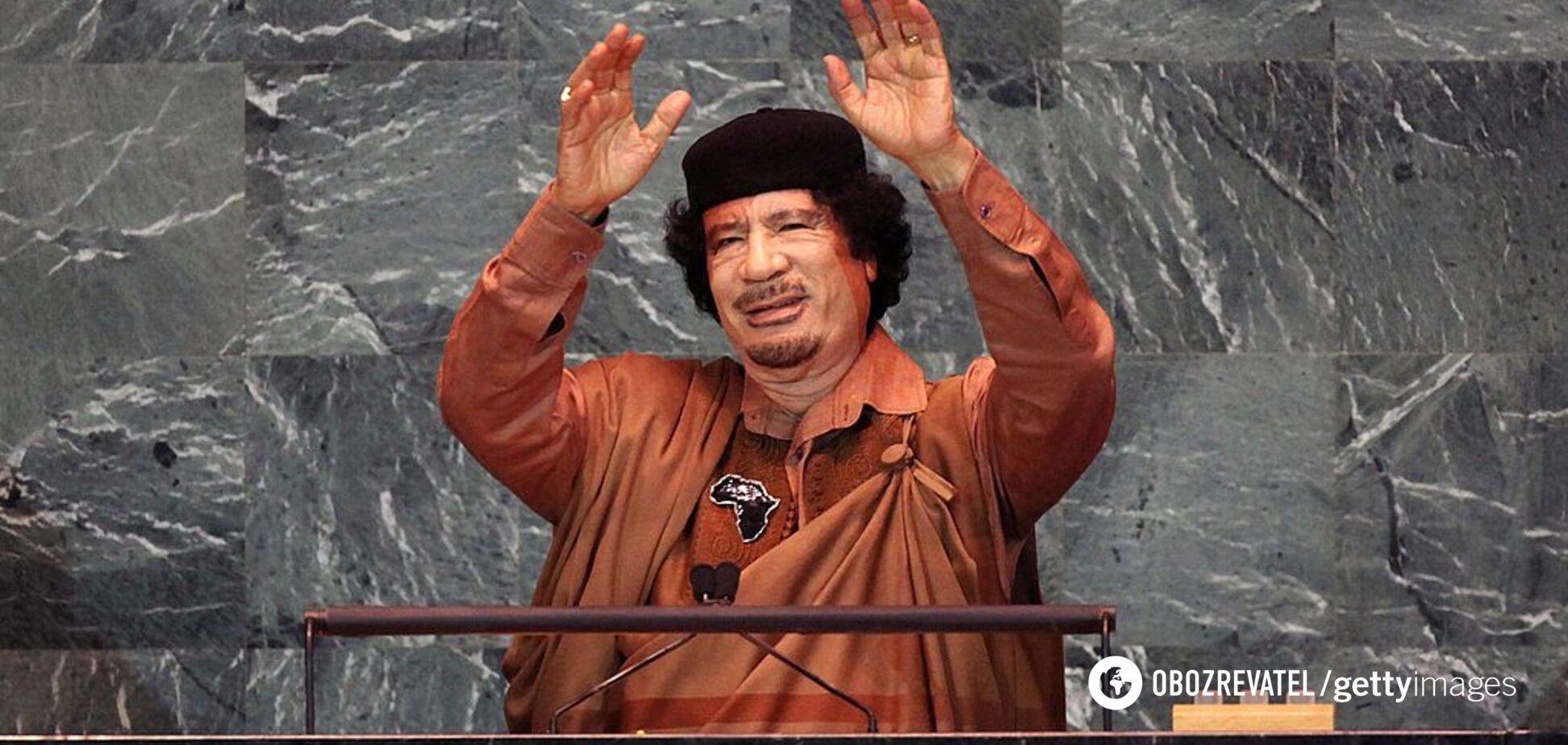 В Одесі засікли літак Каддафі: фото розкішного лайнера