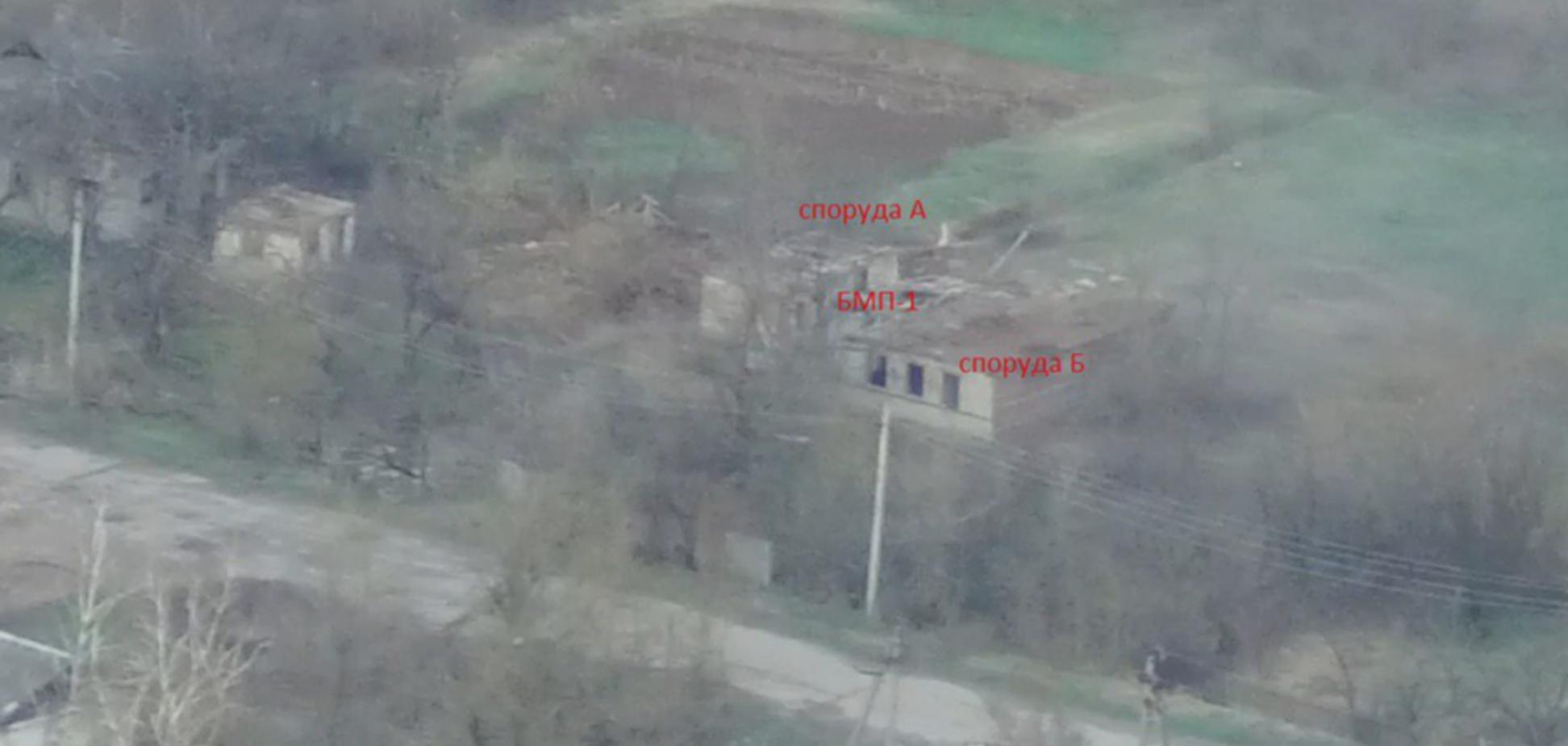 'Азов' уничтожил технику 'ДНР' на Донбассе: меткий удар показали на видео