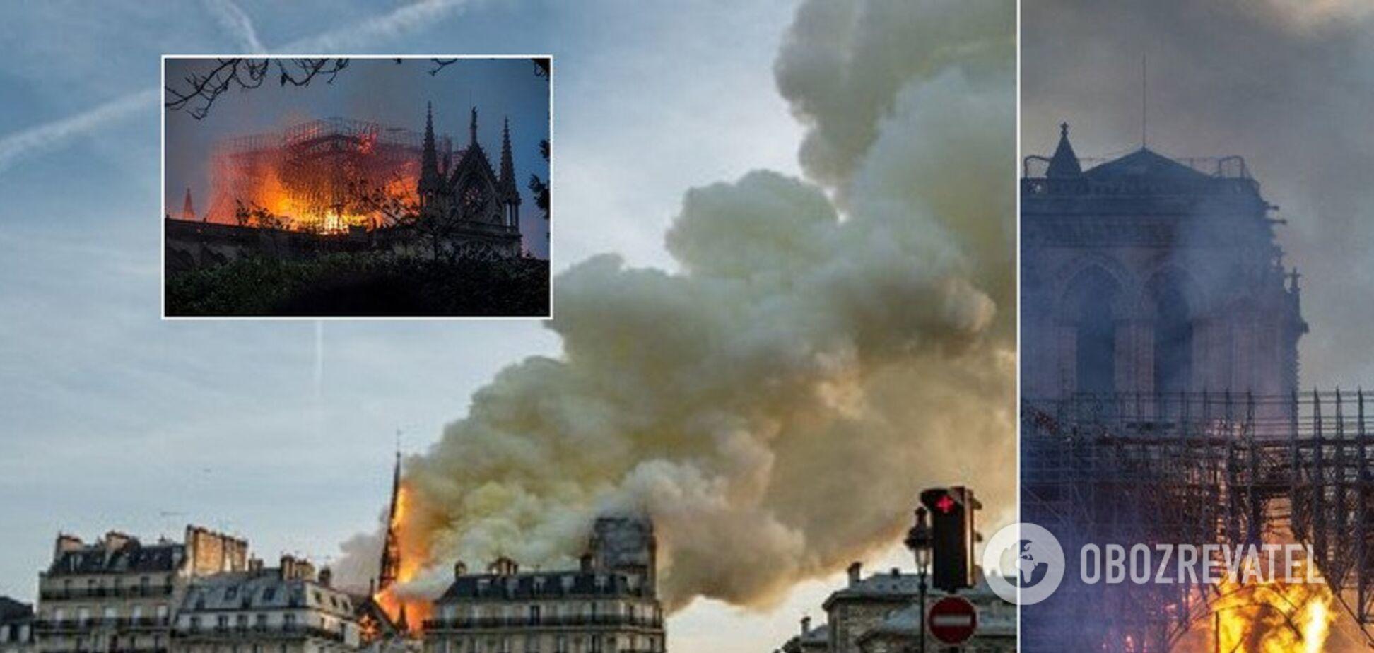 Пожежа в соборі Паризької Богоматері: архітектор оцінив руйнування