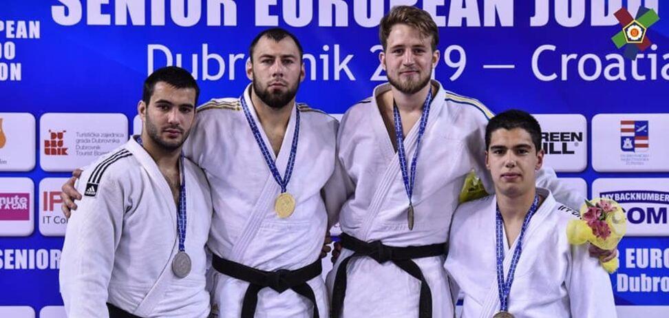 Насиров поздравил украинских дзюдоистов с 9 медалями Кубка Европы