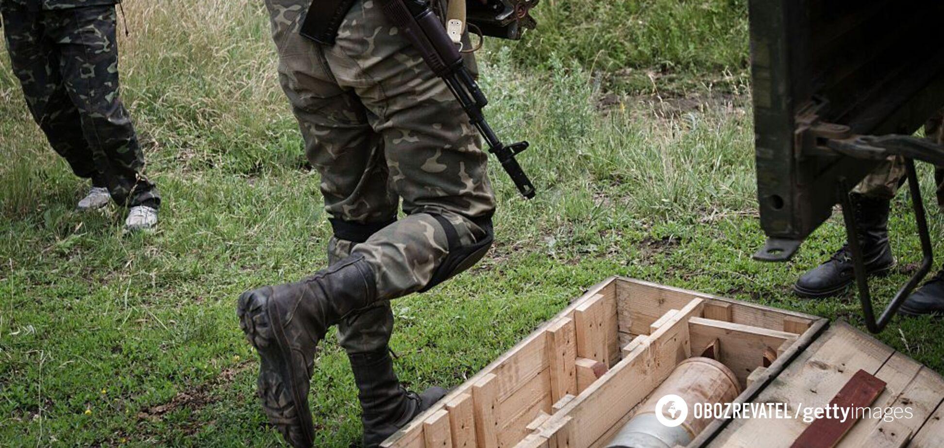 Террористы 'Л/ДНР' подорвались на своей мине: момент попал на видео