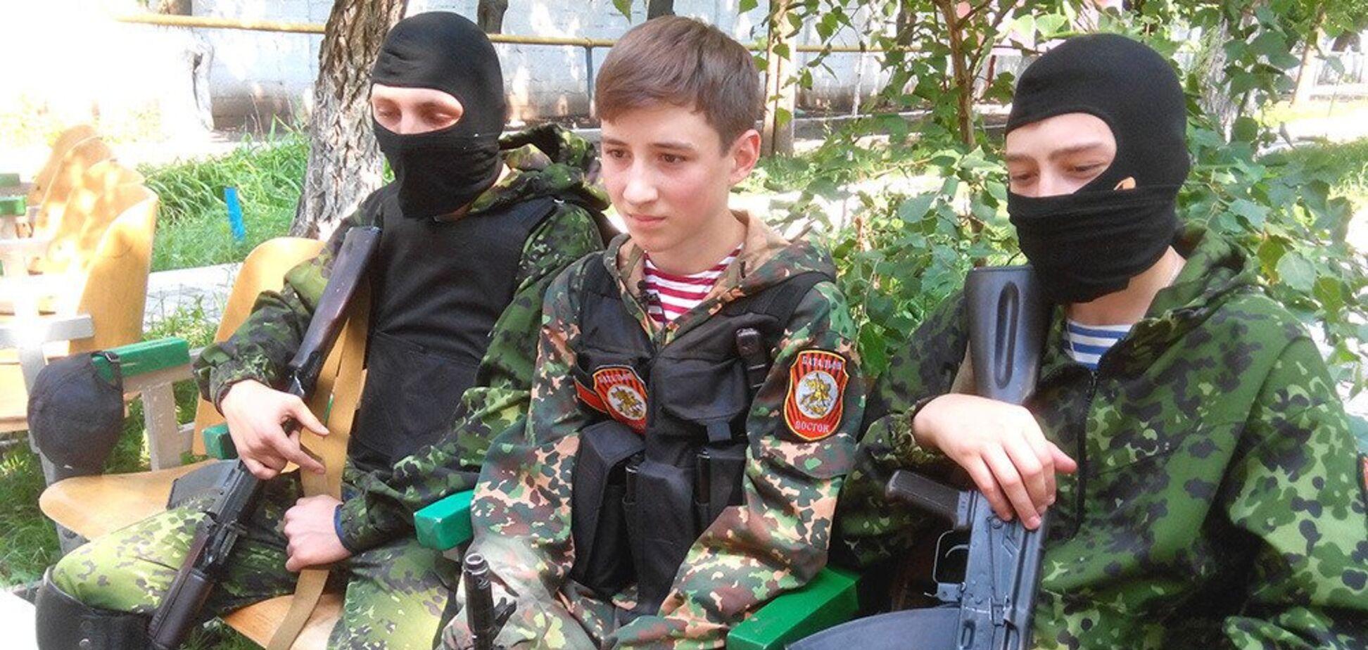 Дети в ДНР