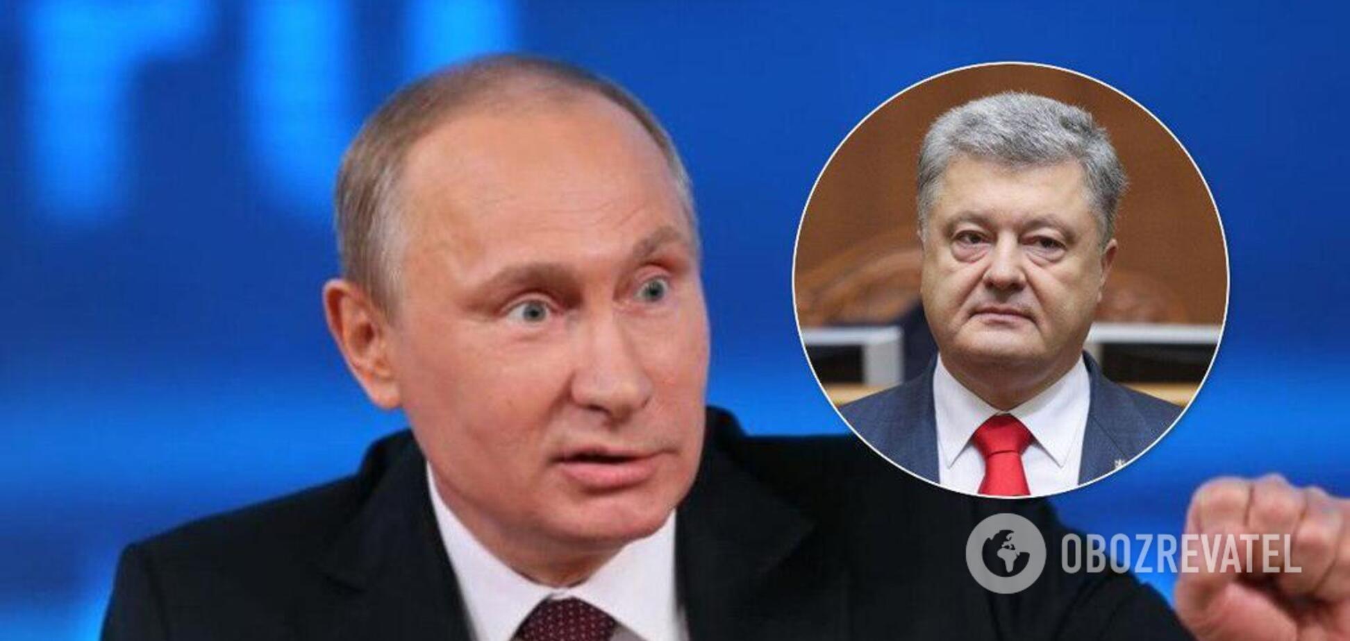 Переговори з Порошенком щодо Донбасу: Путін зробив заяву