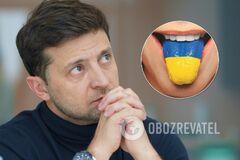 'Як у 'Слузі народу! 'Зеленський сказав, як вирішить питання мови в Україні