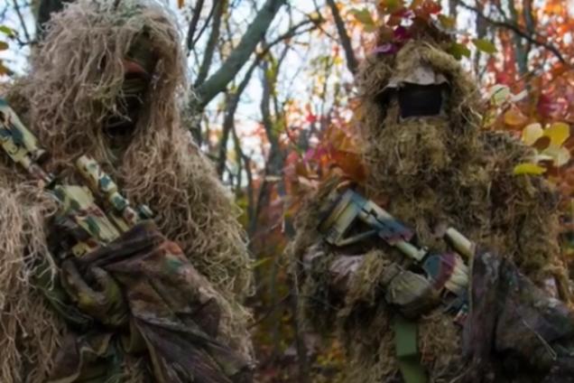 """""""Один упал!"""" В сети показали работу снайперов ОС на Донбассе"""