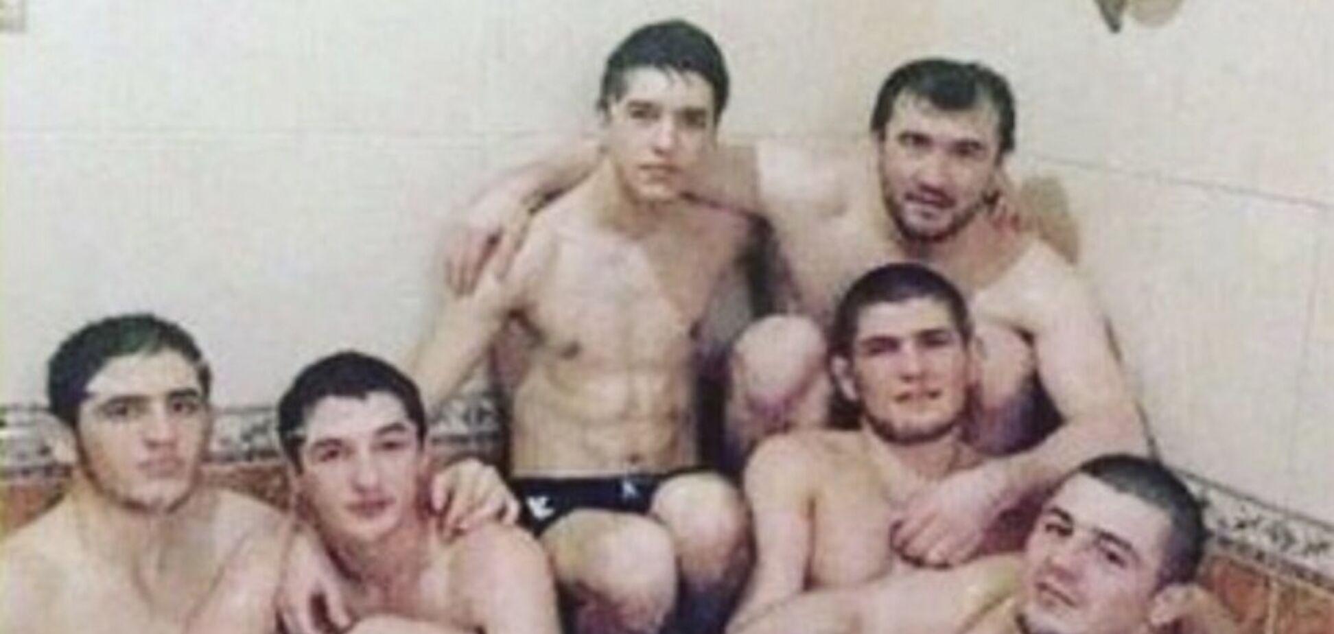 Боец UFC рассказал правду про фото Хабиба с голыми мужчинами в джакузи