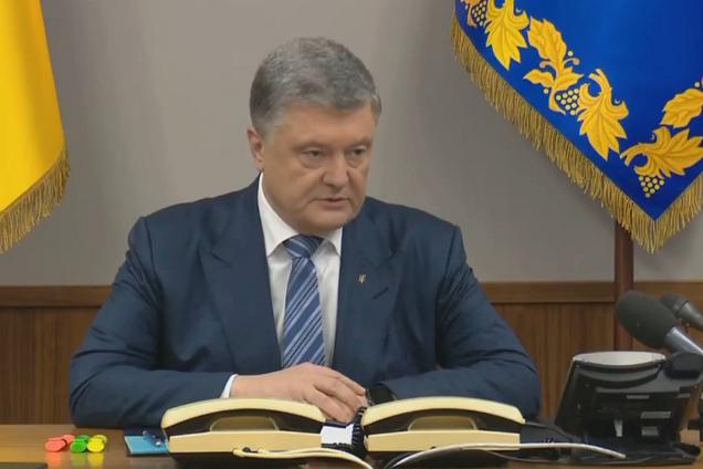 Порошенко провел срочное заседание СНБО из-за ПриватБанка