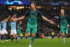 Неймовірна драма! 'Манчестер Сіті' - 'Тоттенхем' - 4-3: всі подробиці 1/4 фіналу Ліги чемпіонів
