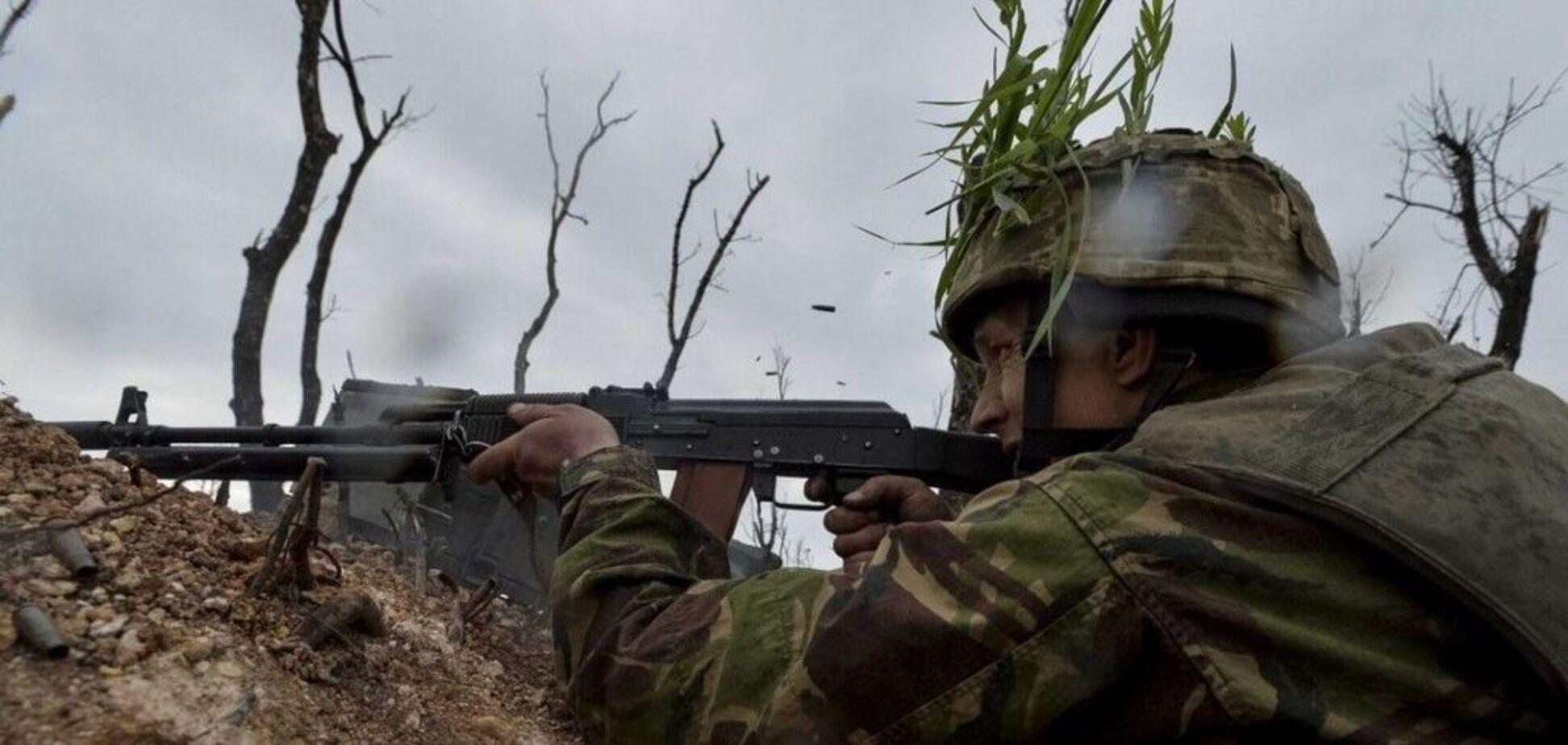 Террористы 'Л/ДНР' подло напали на ВСУ на Донбассе: ранен украинский защитник