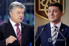 Порошенко vs Зеленский: украинские деятели записали обращение