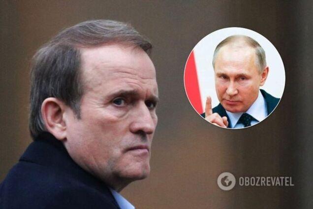 Медведчук запропонував Зеленському угоду від Путіна