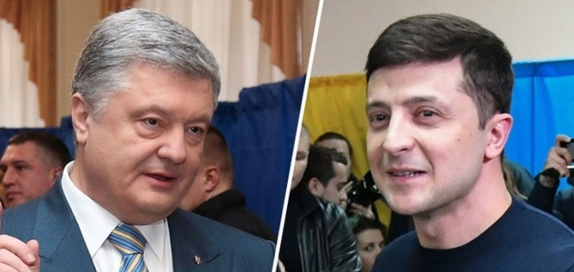 Зеленский VS Порошенко: как разделился украинский шоубиз