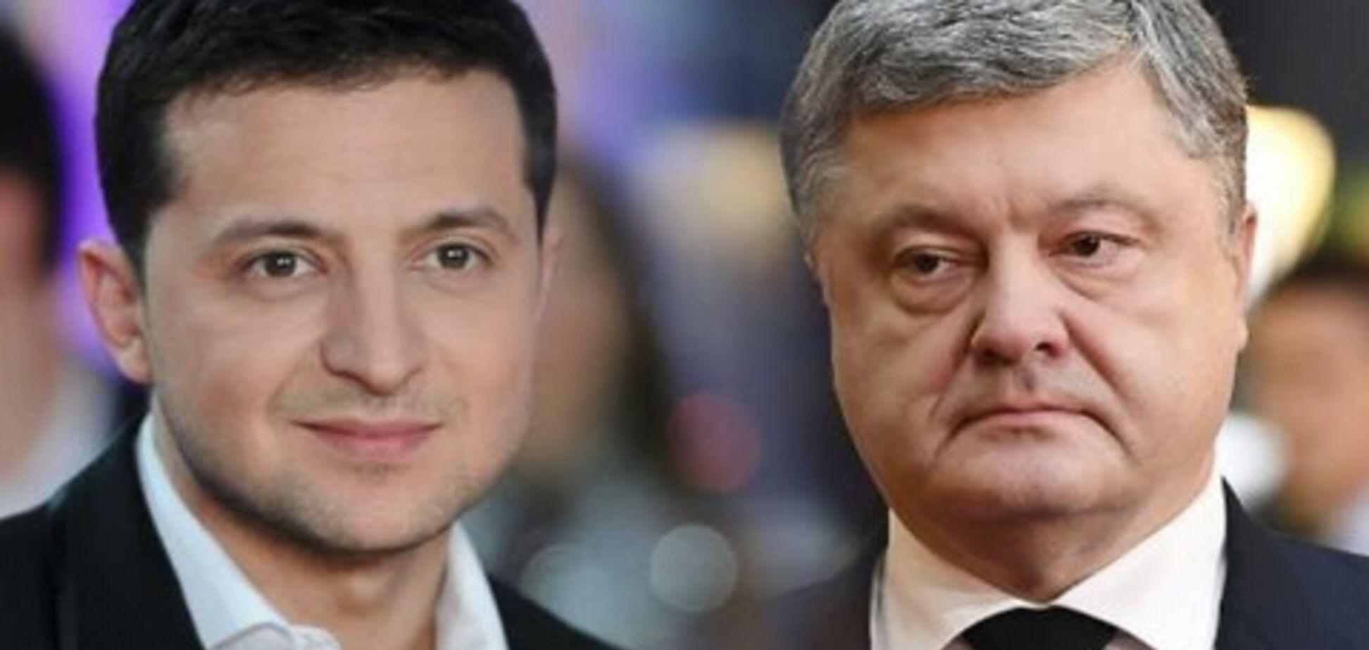 Зеленский vs Порошенко: в ''Опоре'' сказали, как дебаты повлияют на результат выборов