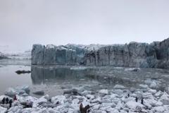 Ледяное цунами в Исландии: обнародованы страшные кадры