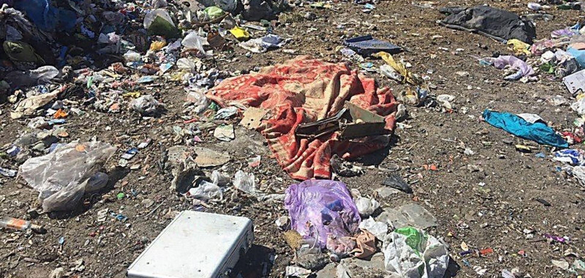 В Николаеве на мусорном полигоне обнаружили расчлененную женщину: фото и видео 18+
