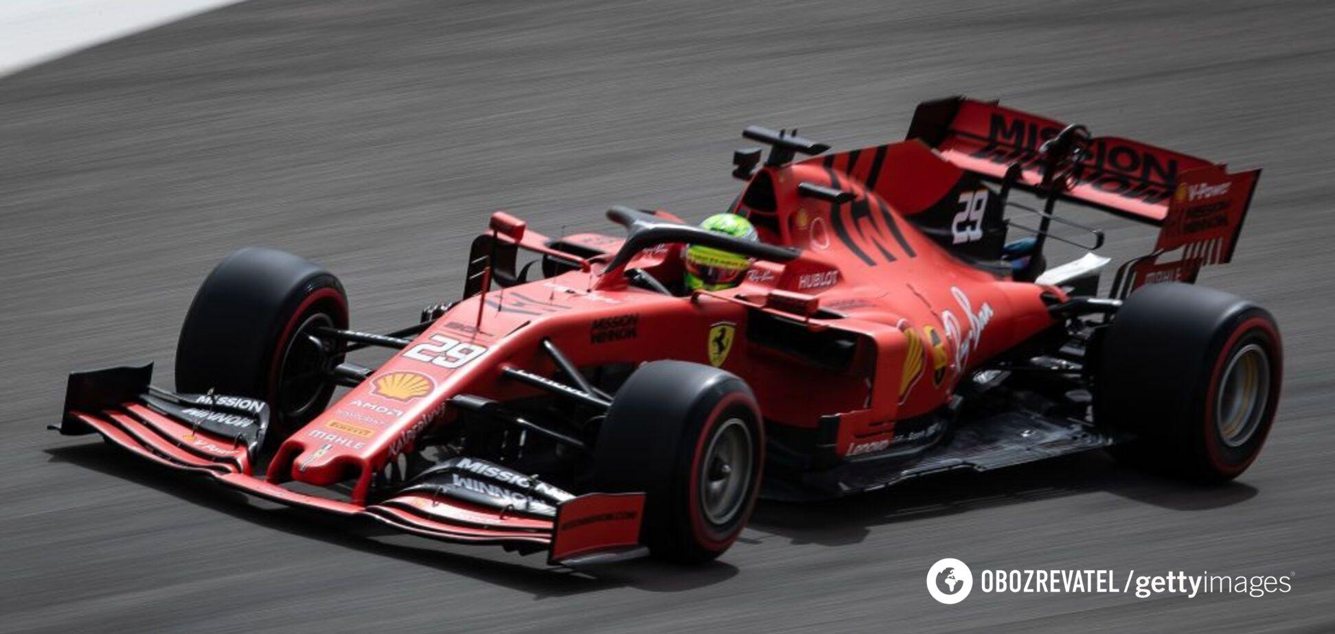 У Ferrari знову з'явився Шумахер