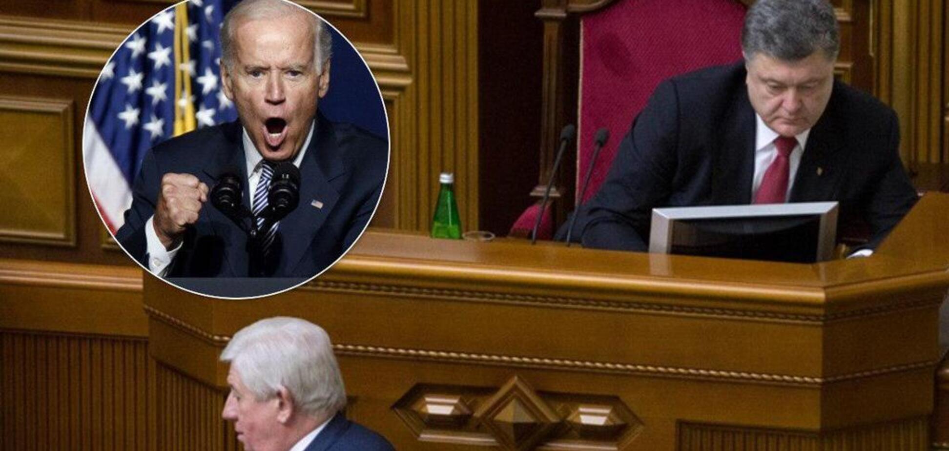 ''У вас есть шесть часов'': The Hill опубликовало компромат на Байдена, который шантажировал Украину