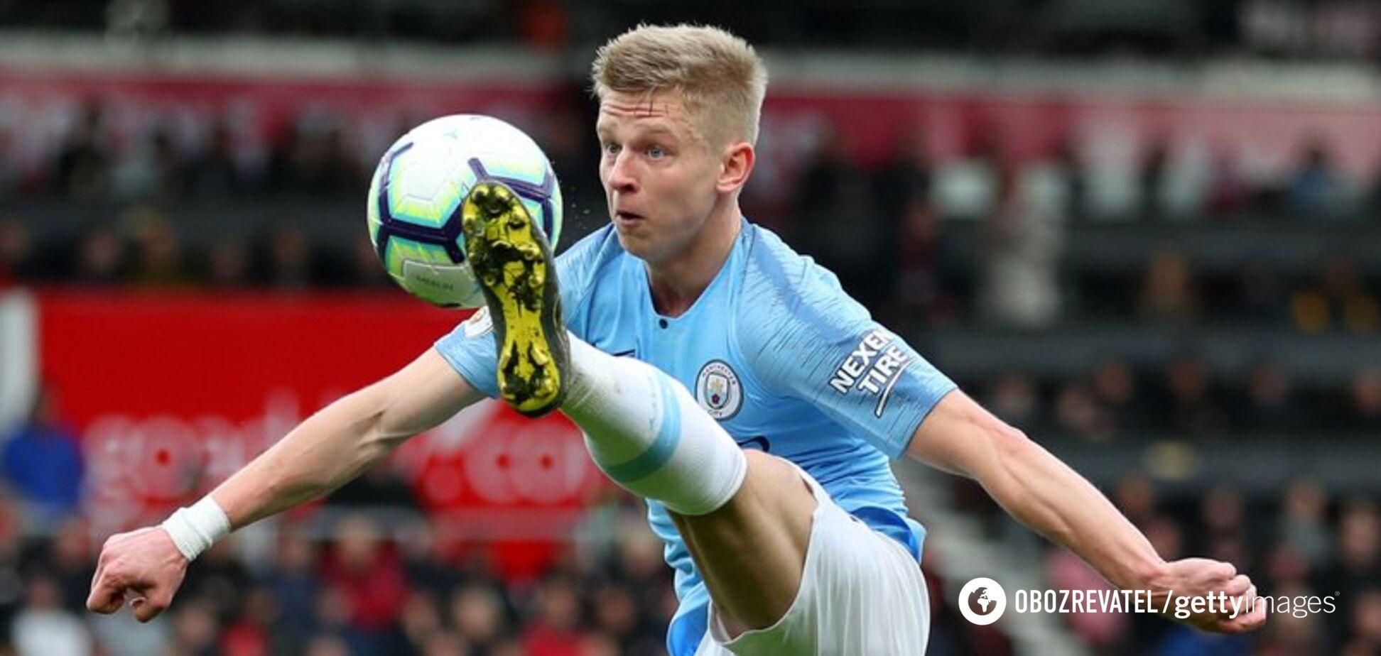 'Манчестер Сити' принял решение по карьере Зинченко