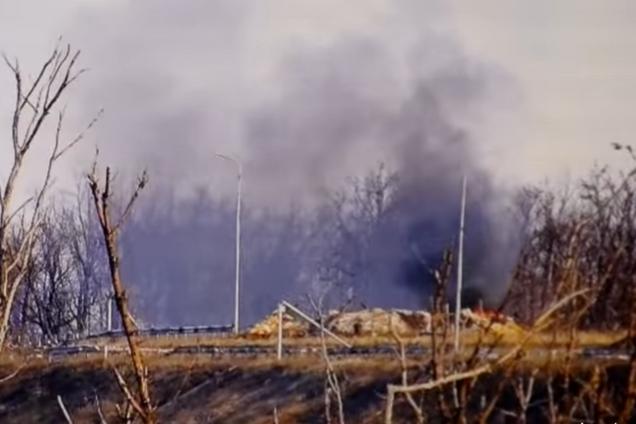Мощный удар ВСУ по блиндажу ДНР показали на видео