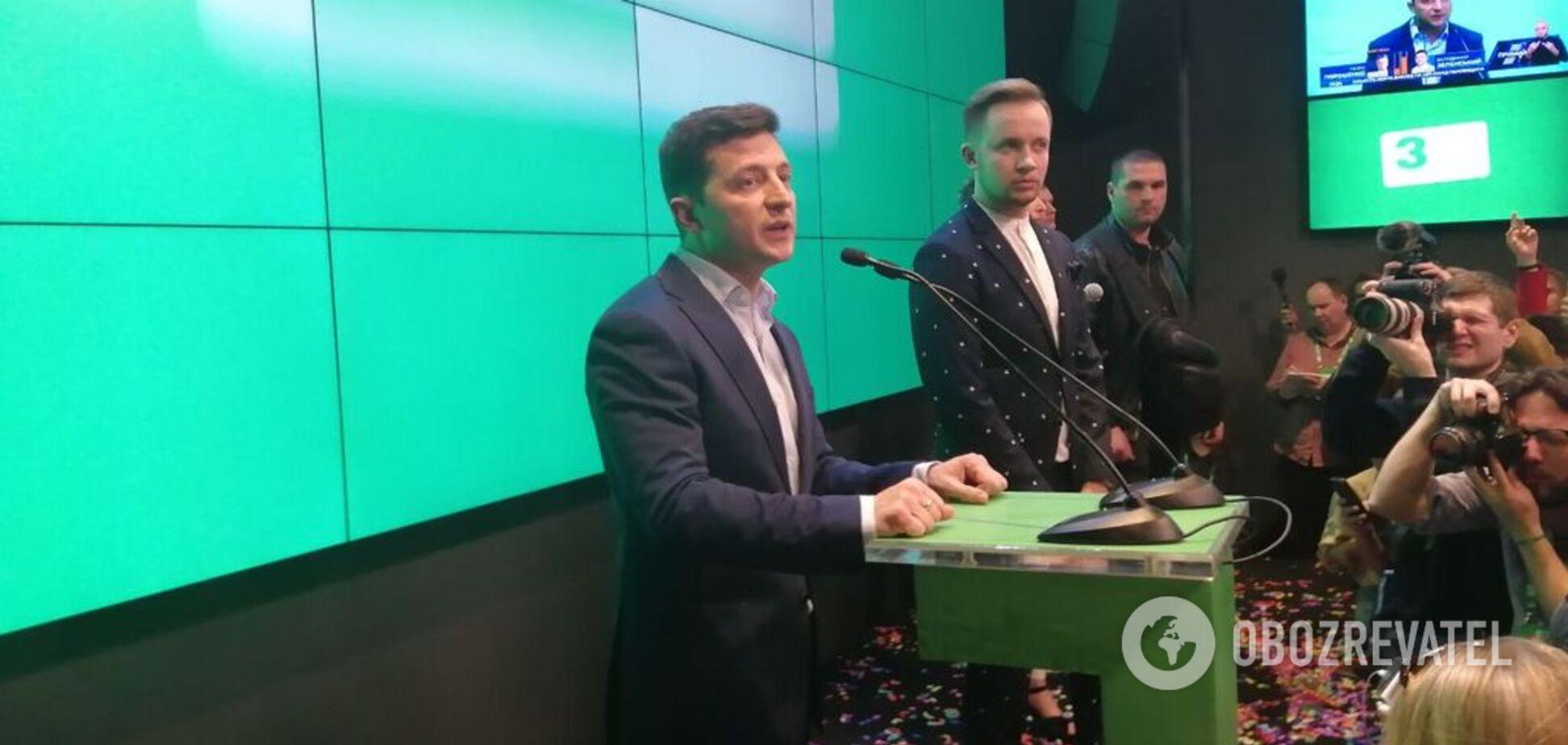 Зеленський назвав свої перші кроки на посаді президента