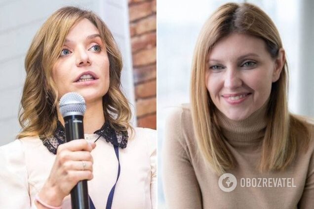 Юлія Порошенко і Олена Зеленська