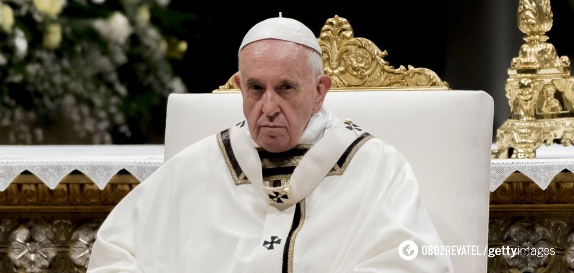 Папа Римський згадав Україну у своїй промові: про що говорив
