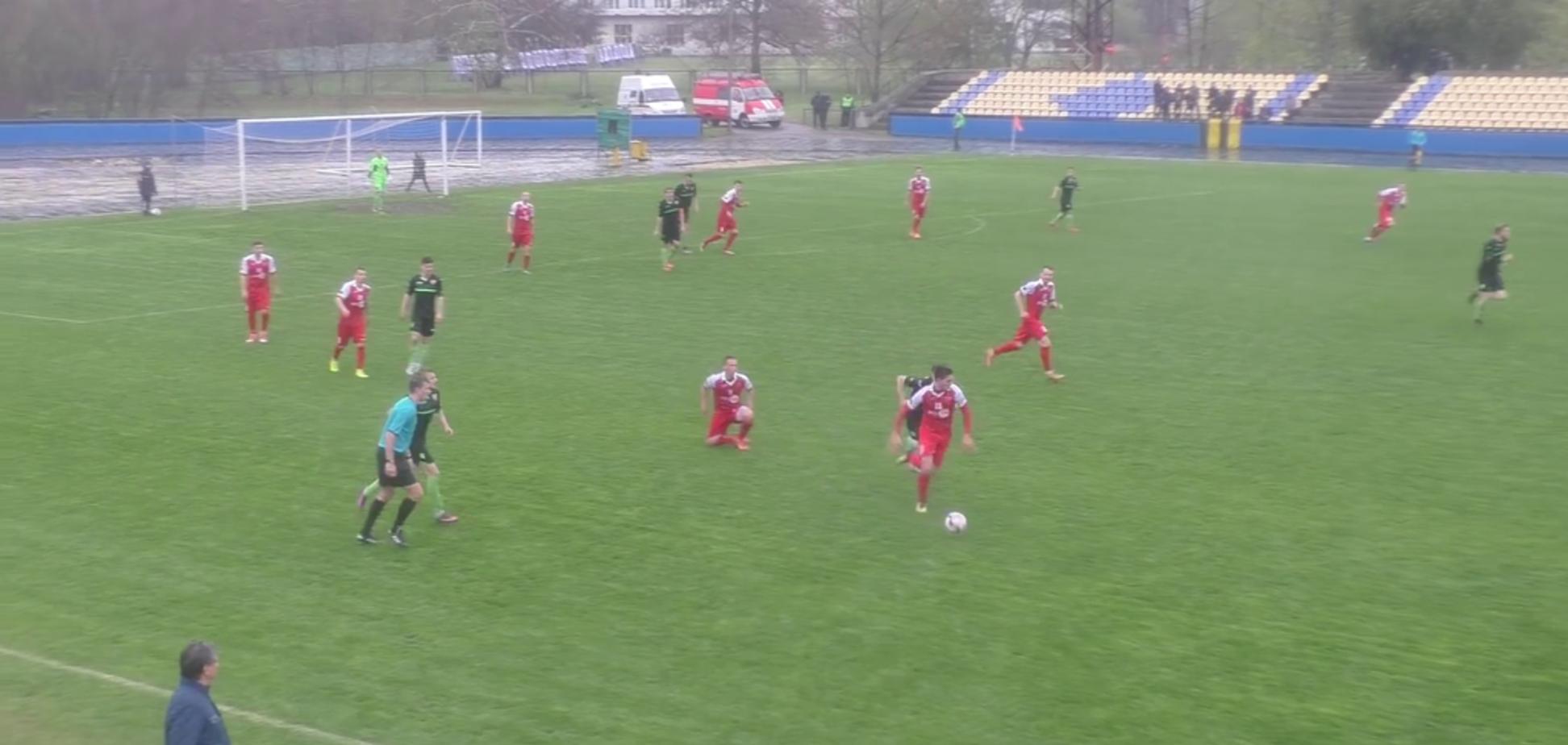 Український футболіст забив вражаючий гол з центру поля